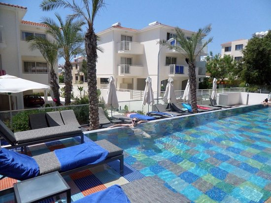 The King Jason Paphos: Adults only pool