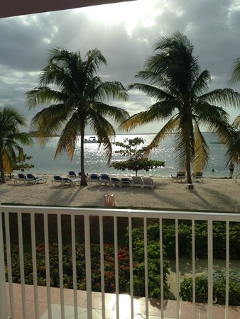 Hotel Riu Montego Bay: our view