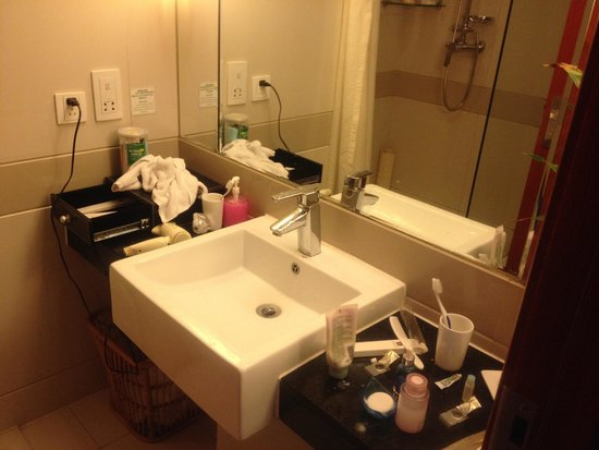 OL Stadium Hotel Beijing: washing stand