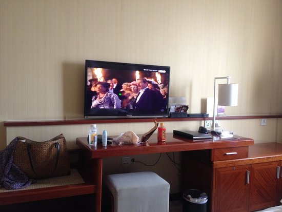 OL Stadium Hotel Beijing: TV