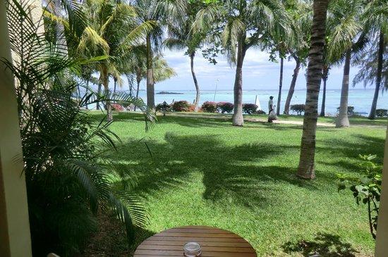 Canonnier Beachcomber Golf Resort & Spa : Vue depuis la chambre