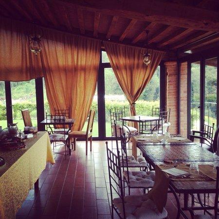 Tenuta Casteani Wine Resort: Momento colazione..!