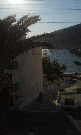 Adonis Hotel: View from our room