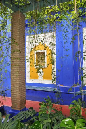Jardin Majorelle: Hinter dem Musée Berbère