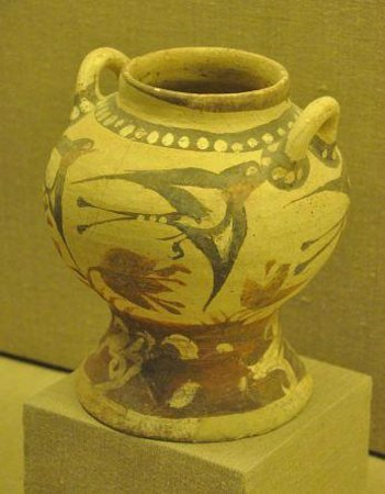 Museum of Prehistoric Thera : Archaeological museum, Fira 3