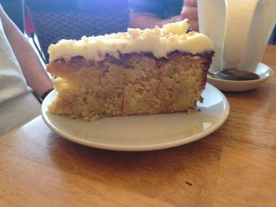 Beckett's coffee shop : Lemon, Lime & Ginger doorstep!