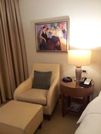 Regent Warsaw Hotel: Comfortable armchair