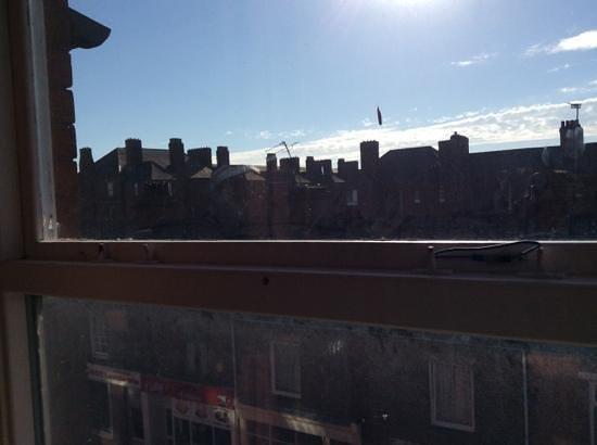 The Royal Hotel: Fantastic window handle