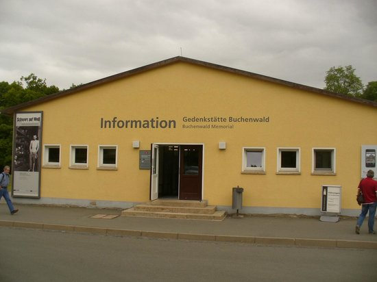 """Buchenwald: This now is the main """"Admin/Information Centre"""""""