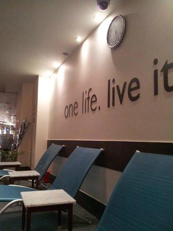 Regent Warsaw Hotel : Relax zone