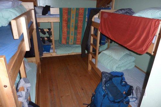 Refuge du Col de la Croix du Bonhomme : 6 person dorm