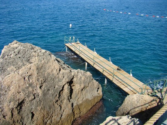 Antalya Adonis Hotel : Море