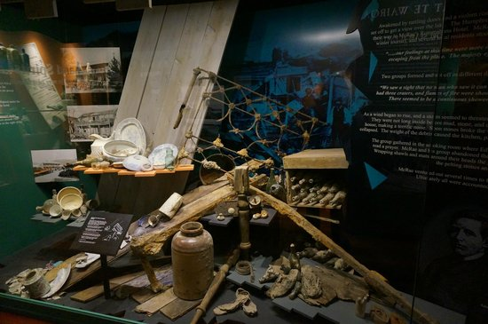 Buried Village of Te Wairoa: museum