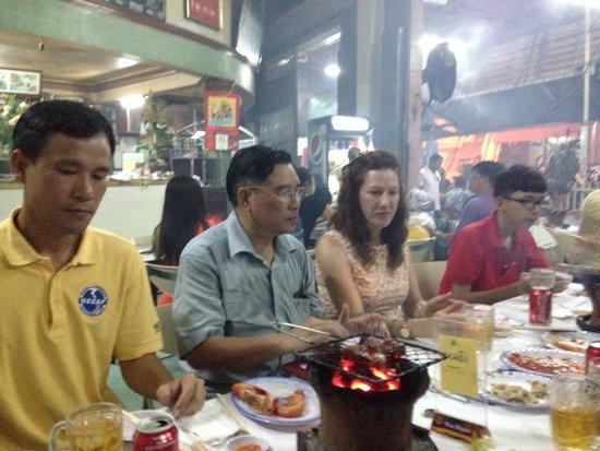 Lac Canh Restaurant : BBQ on nha trang - soooo good