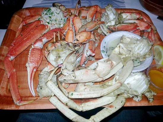 Rustic Inn Crabhouse : Awesome crab plate