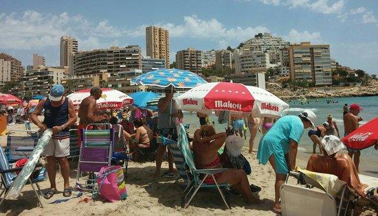 Cala Finestrat Beach: The beach.