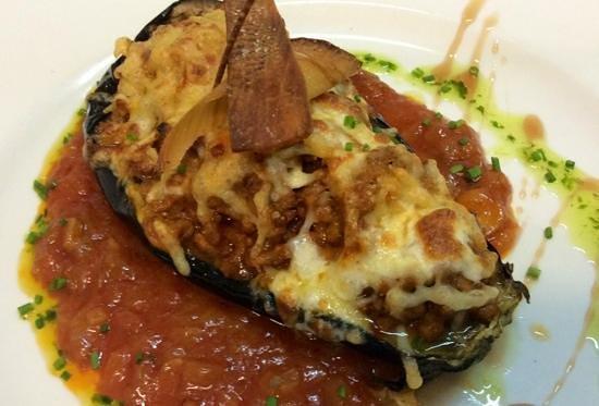El Pati: parmesana de berenjena
