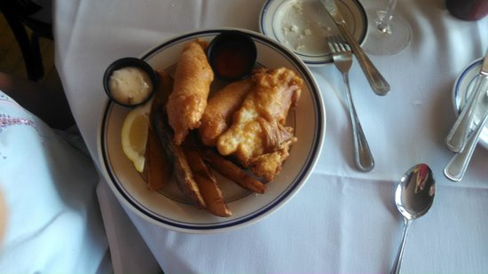 Bahrs Landing Seafood Restaurant: Fish & Chips