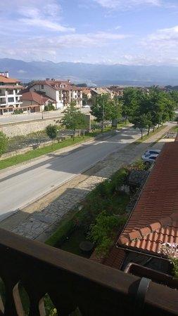 Hotel Molerite : Eckzimmer mit Balkon und Aussicht
