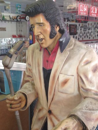 Route 66: Elvis was there!