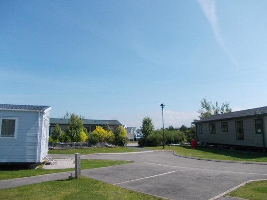 Presthaven Holiday Park: view from caravan