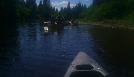 Mont Tremblant Activity Centre: En canot