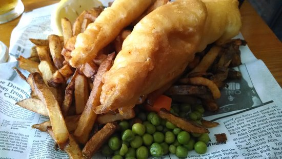 The Olde Angel Inn: Fish & Chips
