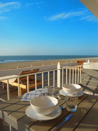 La Residence Belle Plage: pour un petit déjeuner face océan