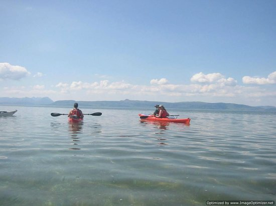 Mountain and Sea Guides - Day Tours: On the water