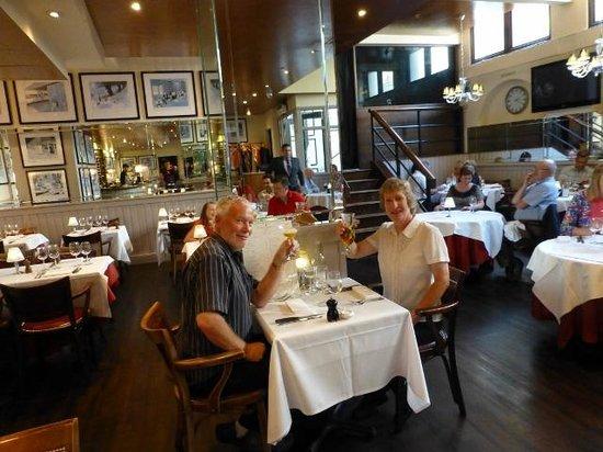 London Steakhouse Co - City: Enjoying our experience at Marco Pierre White, Adrian & Karen