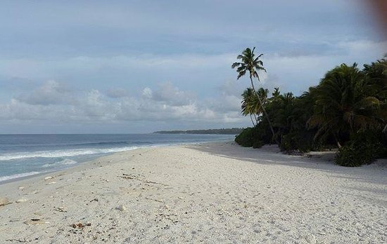 Viluxer Retreat: One of Fuvahmulah's beautiful beaches