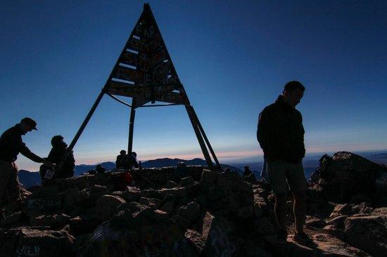 Mount Toubkal : Top of Jebel Toubkal