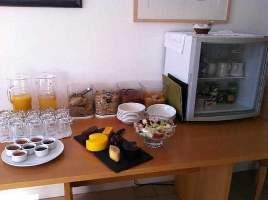 Quince Cottage : Petit dejeuner