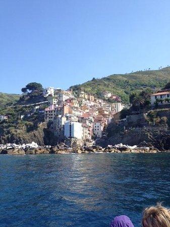 Parco Nazionale Cinque Terre: 船からも、絶景