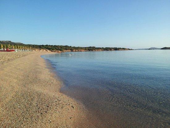 Sporting Hotel Tanca Manna : vista spiaggia ore 07.30