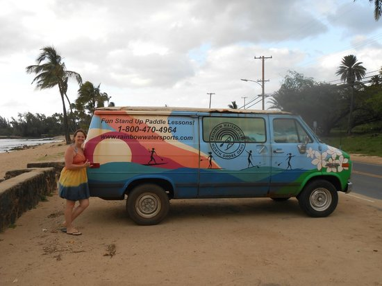 Stand Up Paddle Lessons -- Rainbow Watersports Adventures: Hanging loose with Rainbow Watersports!