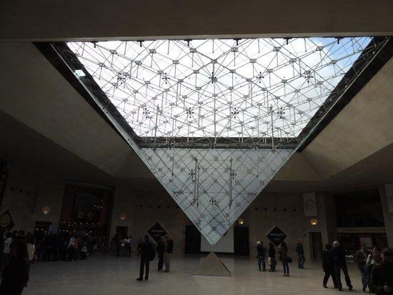 Louvre Museum: A famosa pirâmide invertida