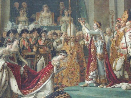 Louvre Museum: Quadros que relatam a história