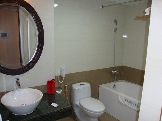Hue Serene Palace Hotel: Bathroom in room