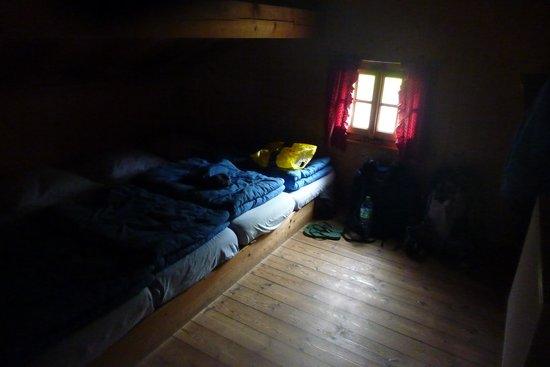 Refuge de Miage: The dorms
