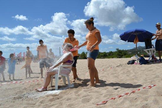 Sporting Hotel Tanca Manna : gioco spiaggia