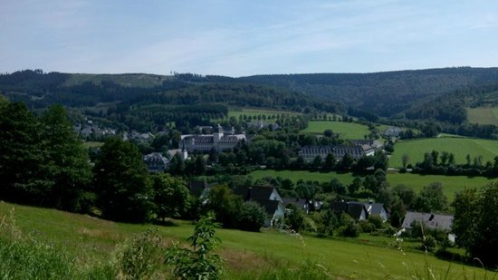 Sauerland Alpin Hotel: wandeling grafschaft