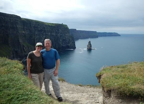 Doolin Cliff Walk: At the cliffs