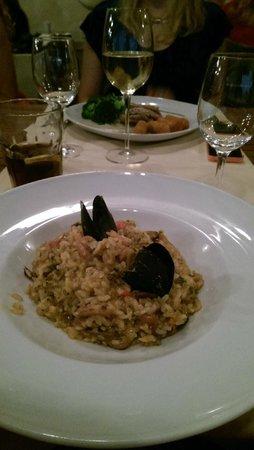 Dubravka 1836 Restaurant: seafood risotto