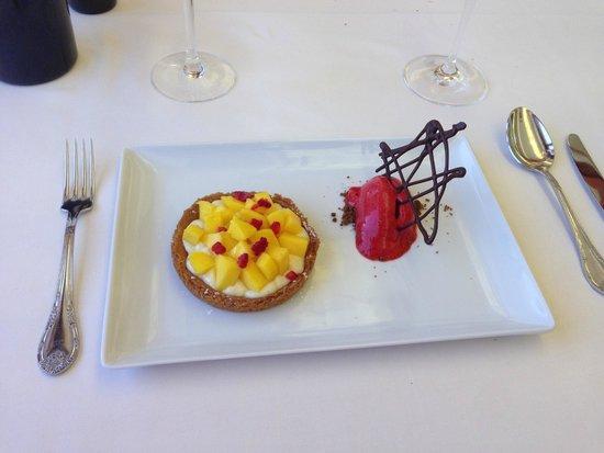 Karlos Arguinano: Mango tart.