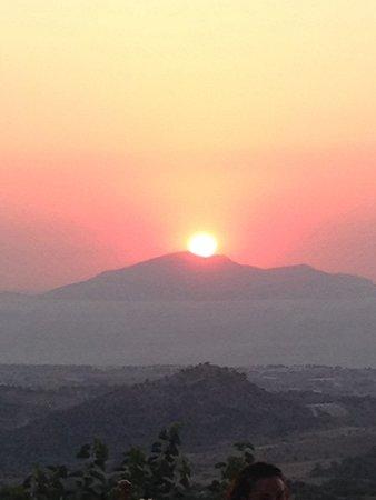 Zeus Hotel: Zia sunset