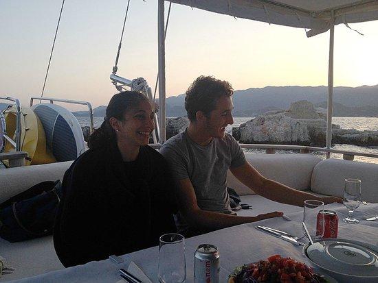 Boat Trips by Captain Ergun : Relax before dinner