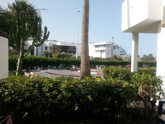 Hotel Floresta: vue de la terrasse