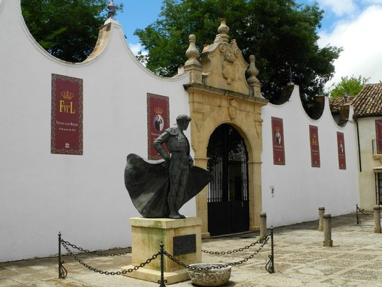 Plaza de Toros: Eingang
