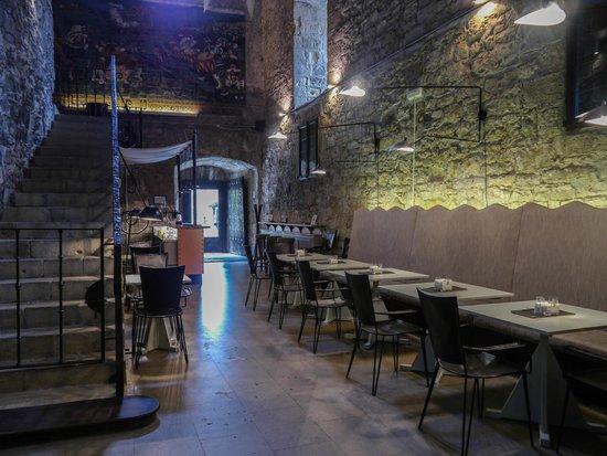 Parador de Hondarribia : Bar cafetería